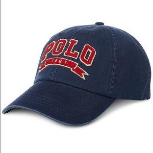 NEW Polo Ralph Lauren Men s Navy Blue Cotton Hat af94b02e43bc